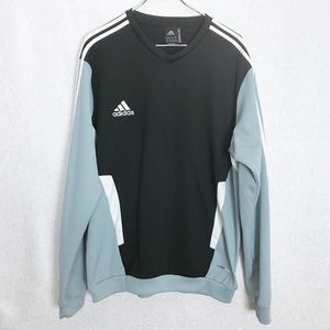 Adidas Men Color-block Pullover Sweatshirt XL